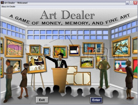 GearDiary The Minds Refined Art Dealer Game Review