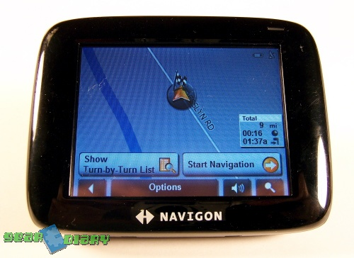 GearDiary LOST: no more - The Navigon 2100 GPS REVIEW