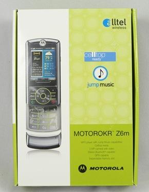 GearDiary The Alltel Motorola MOTOROKR Z6m Mobile Phone Review