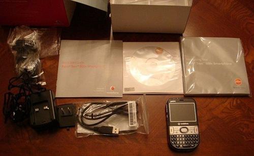 GearDiary A Look at the Vodafone Palm Treo 500v