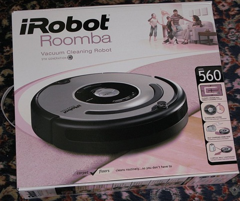 GearDiary Setting Up and Using the Roomba 560