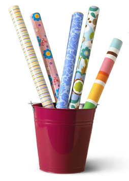 GearDiary Hallmark's New Self Adhesive Gift Wrap - Time Saver or Just Tacky?