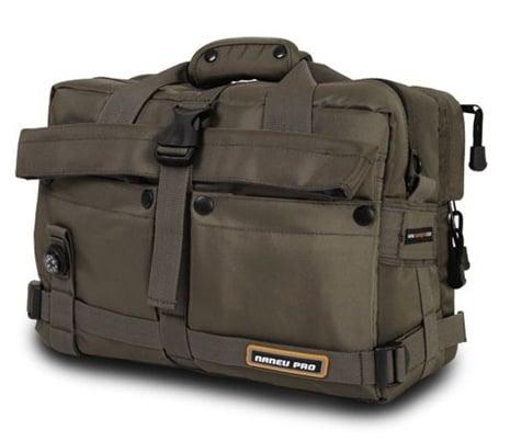 GearDiary The Naneu Pro Military Ops Sierra Small SLR/Laptop Bag Review