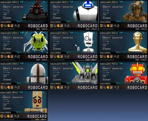 RoboChamps RoboCards