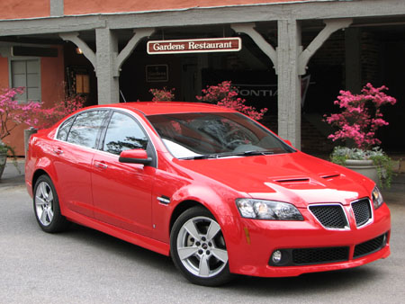 First Drive: Pontiac G8