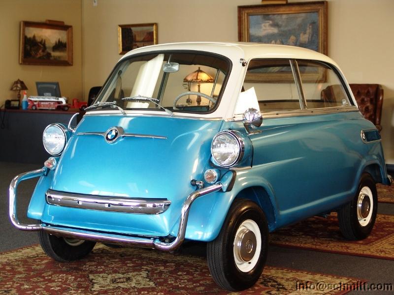 the bmw isetta 600 the cutest eggmobile. Black Bedroom Furniture Sets. Home Design Ideas