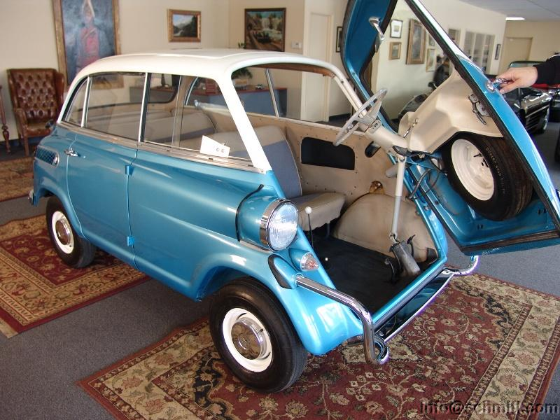 GearDiary The BMW Isetta 600 - the Cutest Eggmobile
