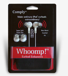 GearDiary The Whoomp! Earbud Enhancers Review: Apple's Dirty Little Secret