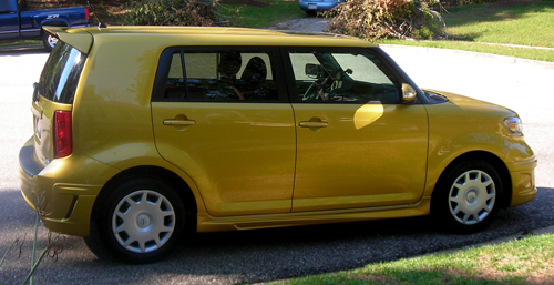 The 2008 Scion xB Gold Rush Mica Release 5.0