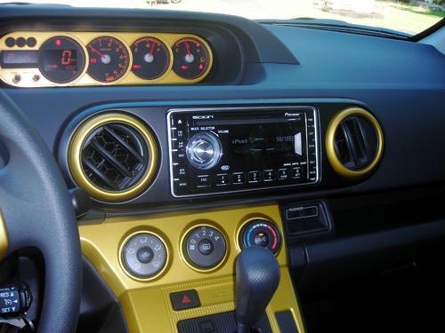 The 2008 Scion xB Gold Rush Mica Release 5.0