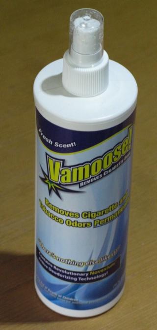GearDiary Vamoose! Tobacco Odor Eliminator Review