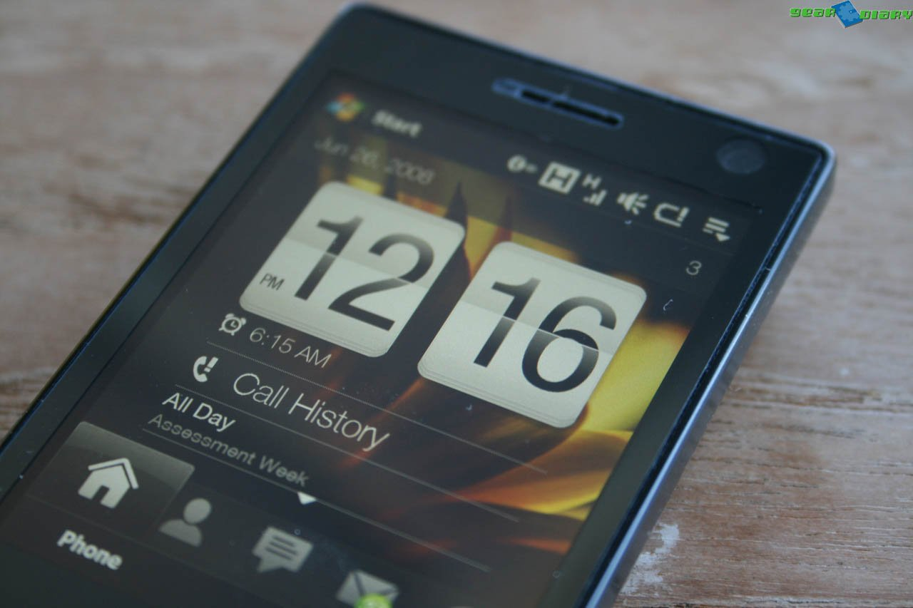 GearDiary HTC Touch Diamond First Impressions