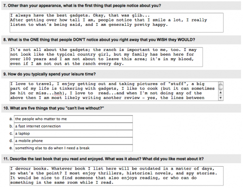 Writing A Profile For Online Dating