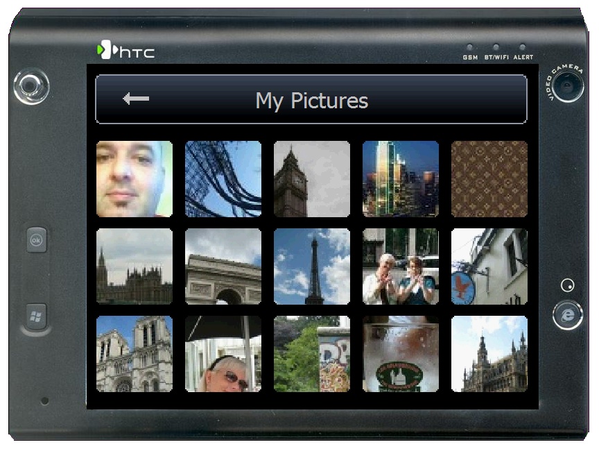 GearDiary Photo Viewing Made Easy - Review of iWindowsMobile EyePhoto