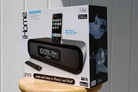 GearDiary iHome iP99 iPhone Radio Dock Reviewed
