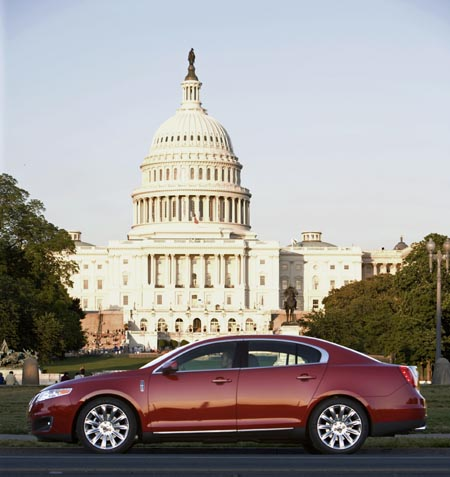 First Drive: 2009 Lincoln MKS luxury sedan