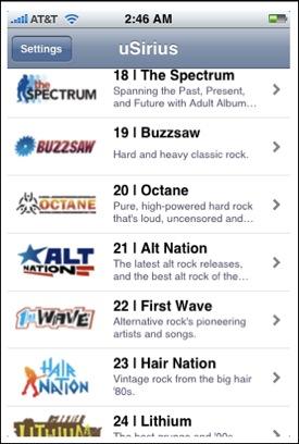 uSirius: Sirius Radio Streaming to Your Jailbroken iPhone | Gear Diary