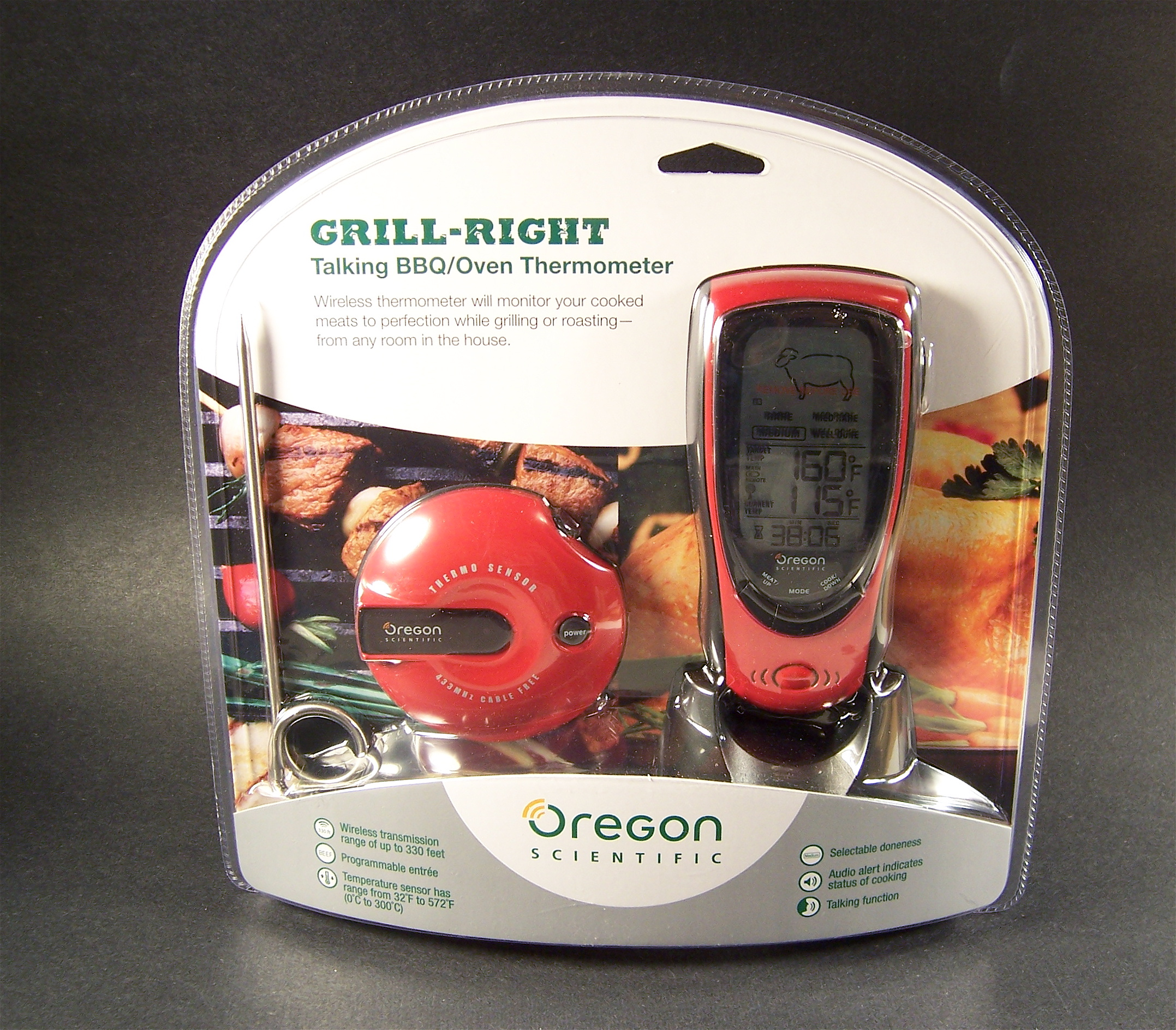 GearDiary Oregon Scientific Grill-Right Review: Grilling Perfection