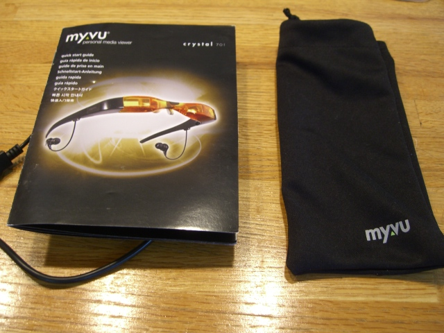 A MicroFiber Sleeve, USB Charging Cable and QuickStart Guide