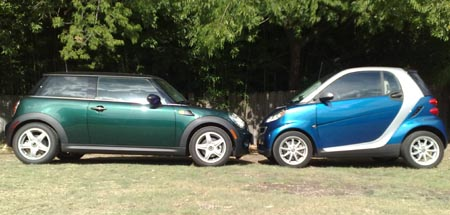 Geardiary Mini Cooper And Smart Fortwo Good Things Come In Small Packages
