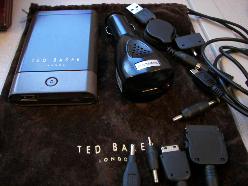 GearDiary Review: Ted Baker Charging Kit from Proporta