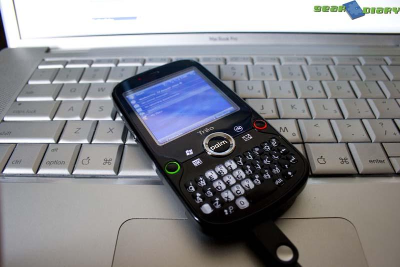GearDiary Palm Treo Pro First Impressions