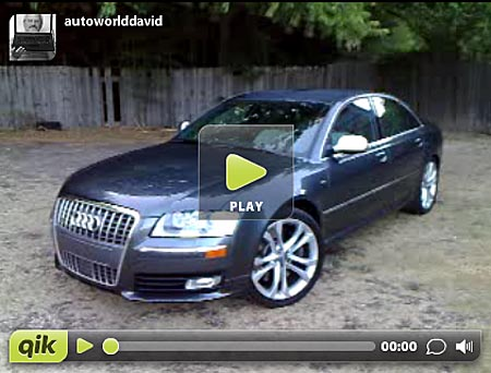 GearDiary Wednesday Walkaround: 2008 Audi S8