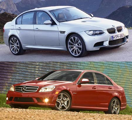 GearDiary M3 vs. C63: Battle of the Bavarian supermodels!