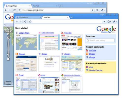 google chrome desktop