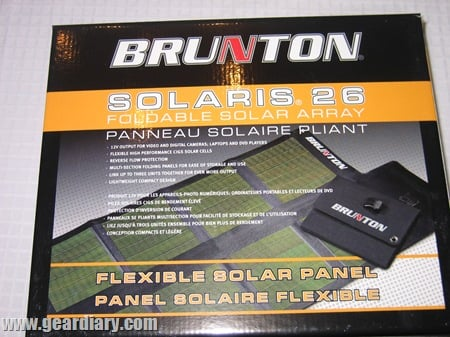 GearDiary Review: Brunton Solaris 26 Foldable Solar Array and Solo Portable Power Pack.  Al Gore Will Love You For This One