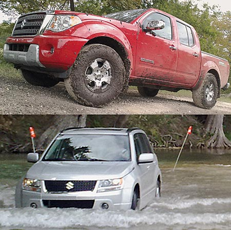 GearDiary 2009 Suzuki Equator and Grand Vitara