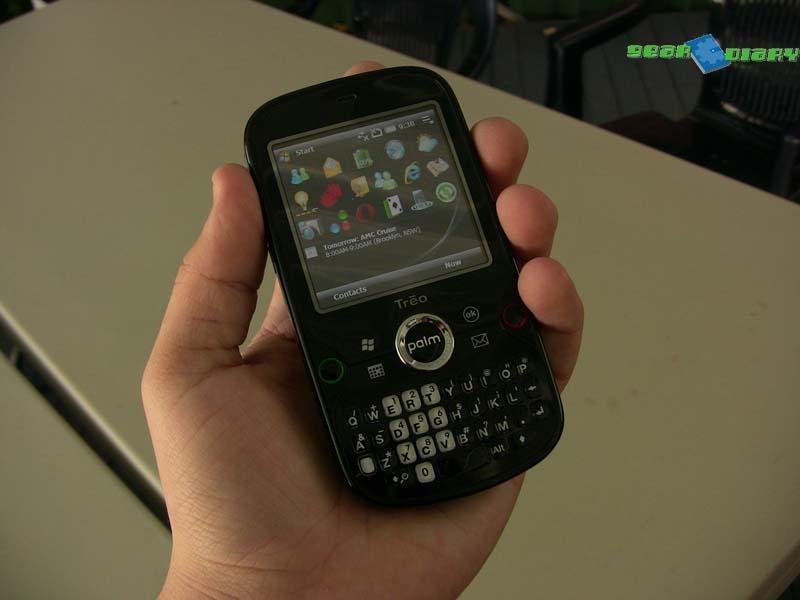 GearDiary Palm Treo Pro Review