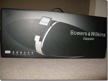 GearDiary Review: The Bowers & Wilkins Zeppelin Speaker