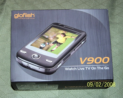 GearDiary E-TEN V900 WM Pro 6.1 Mobile Device Unboxing