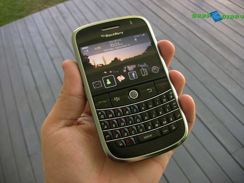 GearDiary Blackberry Bold 9000 Review