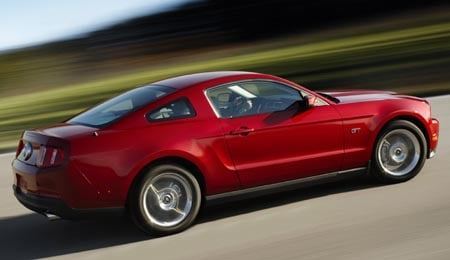 The Pony rides again – 2010 Ford Mustang