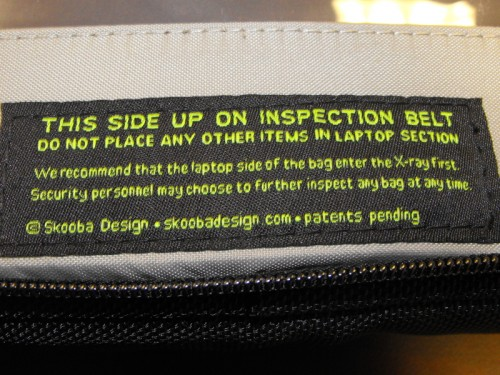 Do what the TSA Says