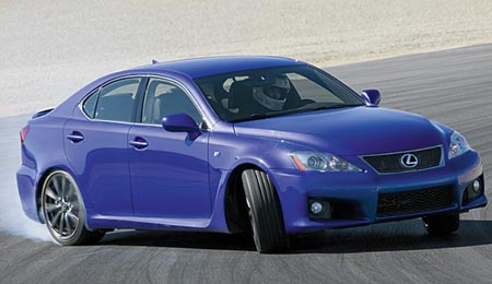 Lexus IS F fast, fun, Fierce!