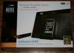 The Altec Lansing inMotion MAX Portable Speaker for iPhone and iPod Review