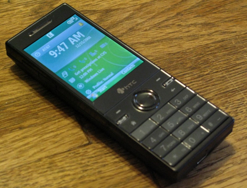 GearDiary Review: The HTC S740 (Rose) Windows Mobile Standard Phone