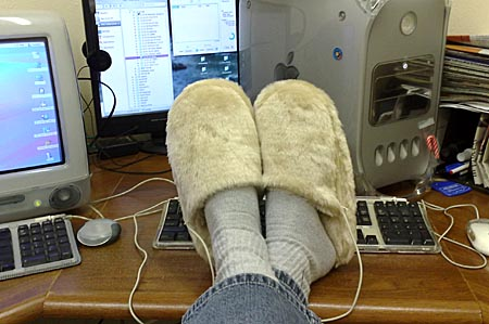 GearDiary USB Heated Slippers Review