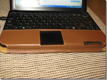 GearDiary Review: PDAir Leather Case for MSI Wind (Brown)
