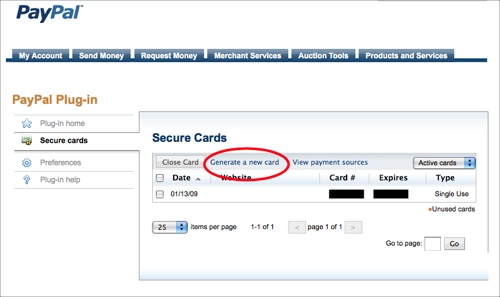 use paypal u0026 39 s free disposable credit card number to manage recurring charges