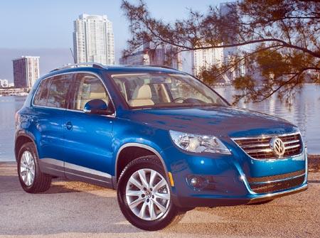 GearDiary 2009 Volkswagen Tiguan