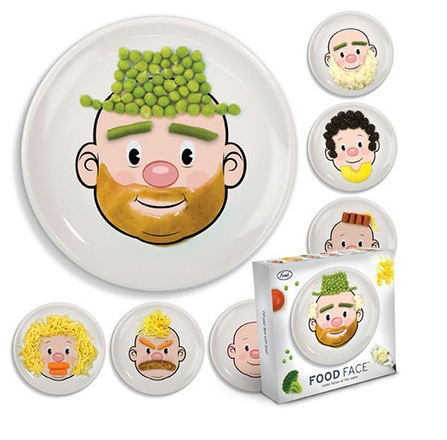 "GearDiary Food Face Plate - another ""why didn't I think of that""  moment"