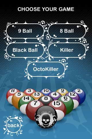 GearDiary Killer Pool for iPhone by SD Games