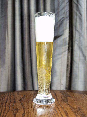 GearDiary Glasi Hergiswil Pilsner Beer Glass Review