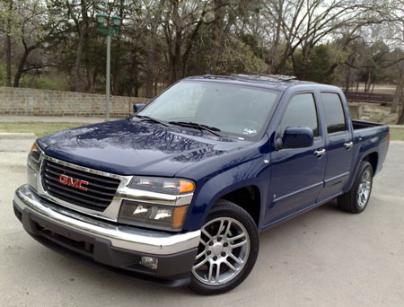 GearDiary 2009 GMC Canyon – a date with a V-8