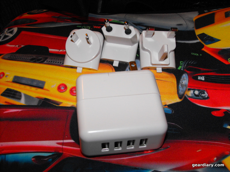 GearDiary Review: USB Fever Super Travel A/C USB Wall Chargers