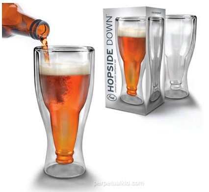 GearDiary Hopside Down Beer Mug Is As Unexpectedly Classy As an Upside Down Beer Bottle Gets